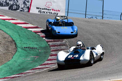 Group 4 Limited production sports cars, racing specials and GT cars built or in production prior to 1960 at the 2019 SVRA Trans Am Speed Fest run at Weathertech Raceway Laguna Seca