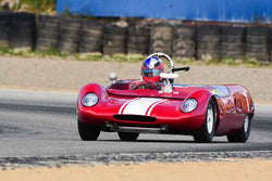 Travis Engen - 1962 Lotus 23B in Group 4 Limited production sports cars, racing specials and GT cars built or in production prior to 1960 at the 2019 SVRA Trans Am Speed Fest run at Weathertech Raceway Laguna Seca