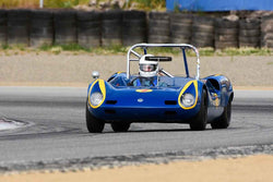 Mark Francis - 1963 Elva Mk 7S in Group 4 Limited production sports cars, racing specials and GT cars built or in production prior to 1960 at the 2019 SVRA Trans Am Speed Fest run at Weathertech Raceway Laguna Seca