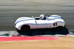 James Brown - 1955 Cooper Bobtail Type 39 in Group 4 Limited production sports cars, racing specials and GT cars built or in production prior to 1960 at the 2019 SVRA Trans Am Speed Fest run at Weathertech Raceway Laguna Seca