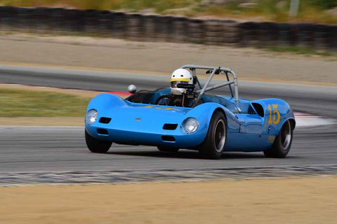 Mike Zubko - 1963 Elva Mk VII in Group 4 Limited production sports cars, racing specials and GT cars built or in production prior to 1960 at the 2019 SVRA Trans Am Speed Fest run at Weathertech Raceway Laguna Seca