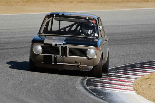 Ken Blasko - 1969 BMW 2002 in Group 8 Recongized series-produced sports cars and sedans in production prior to 1979 at the 2019 SVRA Trans Am Speed Fest run at Weathertech Raceway Laguna Seca