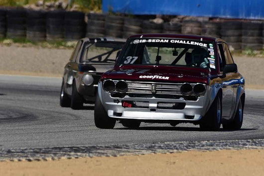 Mark Nettesheim - 1969 Datsun 510 in Group 8 Recongized series-produced sports cars and sedans in production prior to 1979 at the 2019 SVRA Trans Am Speed Fest run at Weathertech Raceway Laguna Seca