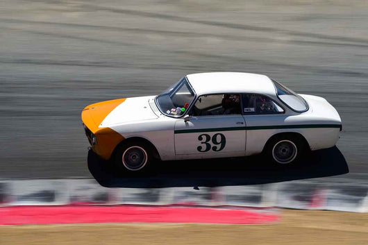 Chet Taylor - 1967 Alfa Romeo  GTV in Group 8 Recongized series-produced sports cars and sedans in production prior to 1979 at the 2019 SVRA Trans Am Speed Fest run at Weathertech Raceway Laguna Seca