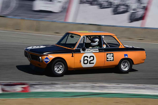 Terry Forland - 1968 BMW 2002 in Group 8 Recongized series-produced sports cars and sedans in production prior to 1979 at the 2019 SVRA Trans Am Speed Fest run at Weathertech Raceway Laguna Seca