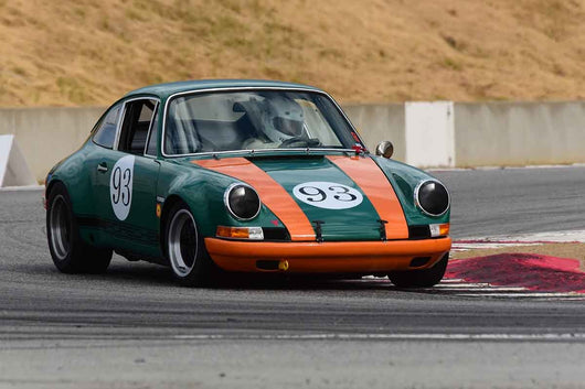 William Taylor - 1971 Porsche 911 ST in Group 8 Recongized series-produced sports cars and sedans in production prior to 1979 at the 2019 SVRA Trans Am Speed Fest run at Weathertech Raceway Laguna Seca