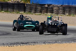 Michael Taradash - 1962 Lotus Seven in Group 8 Recongized series-produced sports cars and sedans in production prior to 1979 at the 2019 SVRA Trans Am Speed Fest run at Weathertech Raceway Laguna Seca