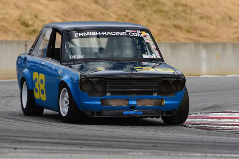 Troy Ermish - 1971 Datsun 510 in Group 8 Recongized series-produced sports cars and sedans in production prior to 1979 at the 2019 SVRA Trans Am Speed Fest run at Weathertech Raceway Laguna Seca