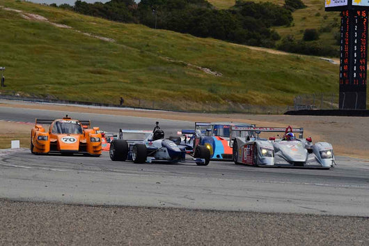 Group 9-11 Post-1973 wings and slicks Formula cars and GTP/Group C, ALMS, WSC and Grand Am cars at the 2019 SVRA Trans Am Speed Fest run at Weathertech Raceway Laguna Seca