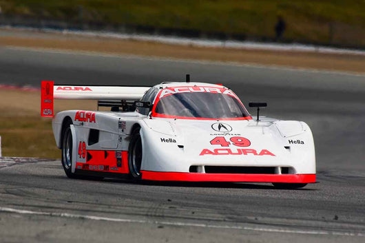 Taz Harvey - 1991 Acura Spice SL91 in Group 9-11 Post-1973 wings and slicks Formula cars and GTP/Group C, ALMS, WSC and Grand Am cars at the 2019 SVRA Trans Am Speed Fest run at Weathertech Raceway Laguna Seca