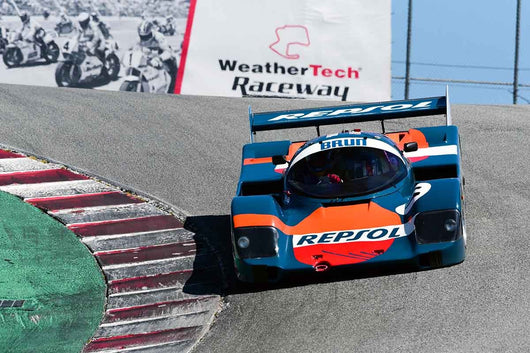 Tom Dooley - 1992 Mirage M12 in Group 9-11 Post-1973 wings and slicks Formula cars and GTP/Group C, ALMS, WSC and Grand Am cars at the 2019 SVRA Trans Am Speed Fest run at Weathertech Raceway Laguna Seca