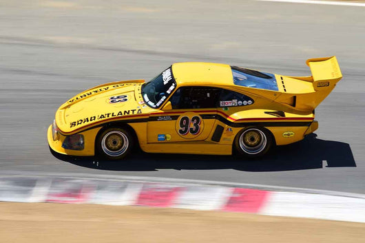 Steve Schmidt - 1976 Porsche 935 K-3 in Group 9-11 Post-1973 wings and slicks Formula cars and GTP/Group C, ALMS, WSC and Grand Am cars at the 2019 SVRA Trans Am Speed Fest run at Weathertech Raceway Laguna Seca