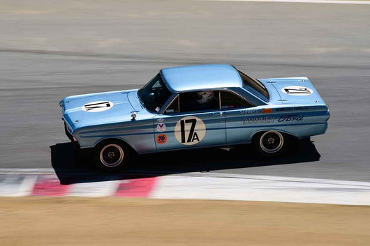 Mike Eddy - 1964 Ford Falcon in Group HTA Trans-Am cars raced between 1966 and 1972 at the 2019 SVRA Trans Am Speed Fest run at Weathertech Raceway Laguna Seca