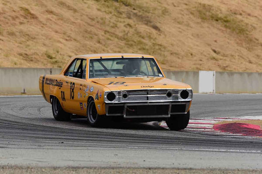 Gary Underwood - 1967 Dodge Dart in Group HTA Trans-Am cars raced between 1966 and 1972 at the 2019 SVRA Trans Am Speed Fest run at Weathertech Raceway Laguna Seca
