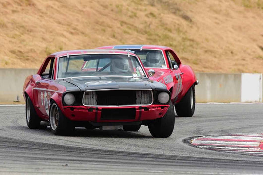 Nick DeVitis - 1968 Ford Mustang Trans Am in Group HTA Trans-Am cars raced between 1966 and 1972 at the 2019 SVRA Trans Am Speed Fest run at Weathertech Raceway Laguna Seca