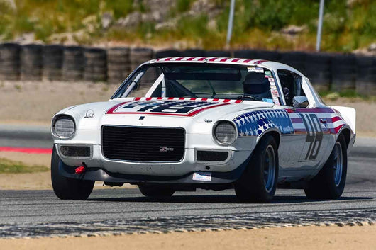 Lance Smith - 1970 Chevrolet Camaro in Group HTA Trans-Am cars raced between 1966 and 1972 at the 2019 SVRA Trans Am Speed Fest run at Weathertech Raceway Laguna Seca