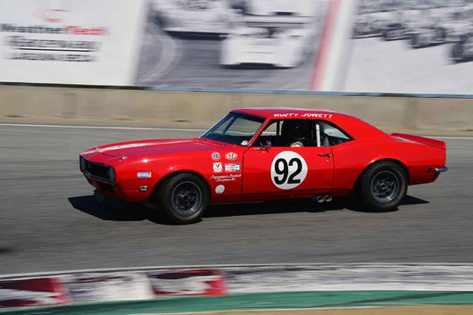 Daniel Goldsmith - 1968 Chevrolet Camaro in Group HTA Trans-Am cars raced between 1966 and 1972 at the 2019 SVRA Trans Am Speed Fest run at Weathertech Raceway Laguna Seca