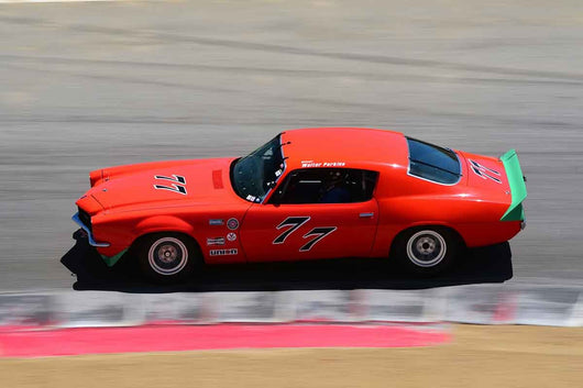Brian Ferrin - 1970 Chevrolet Camaro in Group HTA Trans-Am cars raced between 1966 and 1972 at the 2019 SVRA Trans Am Speed Fest run at Weathertech Raceway Laguna Seca