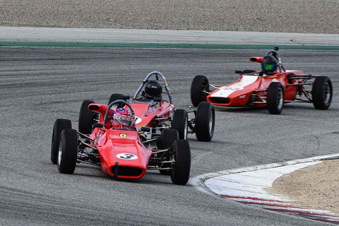 Formula Ford in Group 3 at the 2020 HMSA Spring Club Event run at WeatherTech Raceway Laguna Seca/Monterey, California