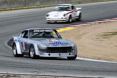 Bob Clucas - 1973 Datsun 240Z in Group 6 at the 2020 HMSA Spring Club Event run at WeatherTech Raceway Laguna Seca/Monterey, California