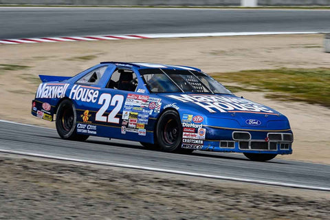 Ralph Borelli - 1991 Ford T-Bird in Group 6 at the 2020 HMSA Spring Club Event run at WeatherTech Raceway Laguna Seca/Monterey, California