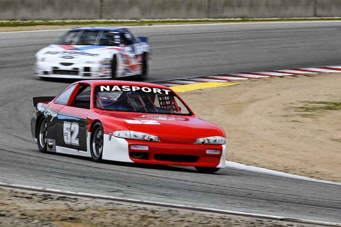 Jim Froula - 1995 Nissan 240 SX in Group 6 at the 2020 HMSA Spring Club Event run at WeatherTech Raceway Laguna Seca/Monterey, California