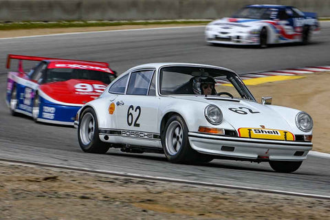 Bruce O'Neil - 1972 Porsche 911 ST in Group 6 at the 2020 HMSA Spring Club Event run at WeatherTech Raceway Laguna Seca/Monterey, California