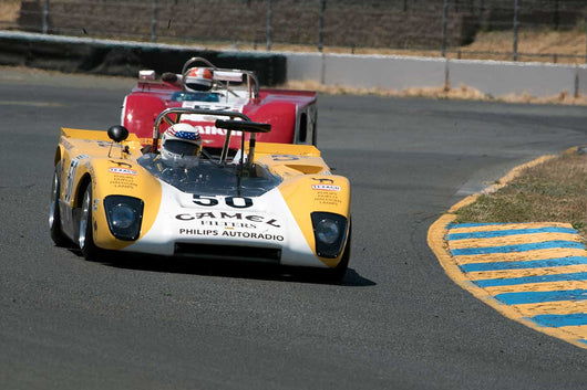 John Delane with 1971 Lola T212 in Group 11 at the 2016 SVRA Sonoma Historics - Sears Point Raceway