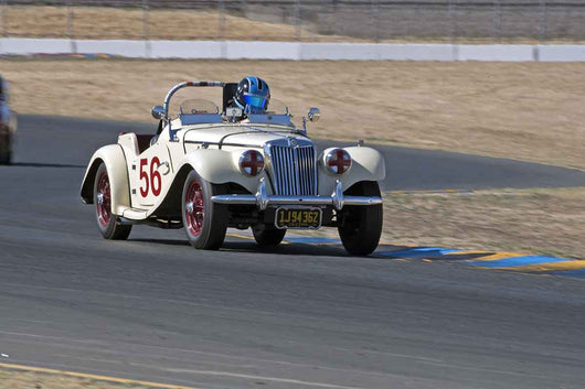 Bill Angeloni - 1955 MG TF 1500 in Group 1 -  at the 2016 Charity Challenge - Sonoma Raceway