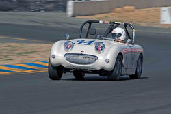 Don Queen - 1959  Austin Healey Sprite in Group 1 - 1959-65 Sports Racing Cars at the 2017 CSRG Charity Challenge run at Sonoma Raceway