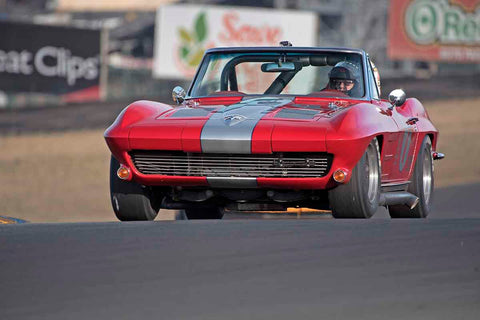 Richard Orme - 1963 Chevrolet Corvette in Group 3 - Large Displacement Production Sports Cars through 1967 at the 2017 CSRG Charity Challenge run at Sonoma Raceway
