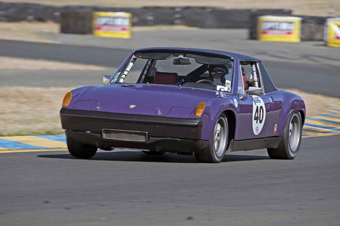 Jon Wactor - 1970 Porsche 914/6 in 1956-72 Production & GT Cars under 2000cc - Group 9 at the 2017 SVRA Sonoma Historic Motorsports Festivalrun at Sonoma Raceway