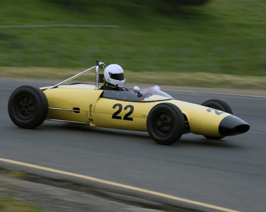 Robert Stoker with 1962 Lotus 22 in Group 5 - at the 2016 CSRG David Love Memorial - Sears Point Raceway