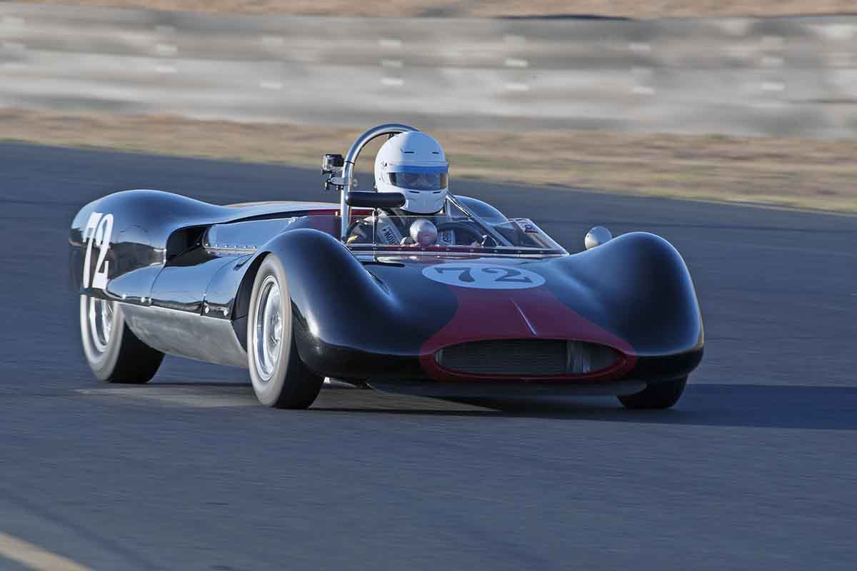 Leland Osborn - 1963 Genie Mk 5 in Group 4 -  at the 2016 Charity Challenge - Sonoma Raceway