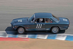 Pete Whitehead - 1964 Iso Rivolta GT in Group 4B - 1963-1966 GT Cars over 2500cc at the 2017 Rolex Monterey Motorsport Reunion run at Mazda Raceway Laguna Seca