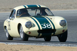 Henry Moore with 1962 Lotus Elite in Group 1  at the 2016 HMSA LSR II - Mazda Raceway Laguna Seca