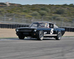 Kristopher Matheson with 1966 Shelby GT 350 in Group 1A - Pre 1940 Sports Racing and Touring Cars at the 2015-Rolex Monterey Motorsport Reunion, Mazda Raceway Laguna Seca