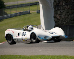 Christensen Mogens with 1965 Wolverine Sports Racer in Group 4 at the 2015 Sommet des Legendes at Mt Tremblant