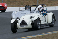 John Buddenbaum with 1949 Jaguar Parkinson Special in Group 2  at the 2016 SVRA Sonoma Historics - Sears Point Raceway