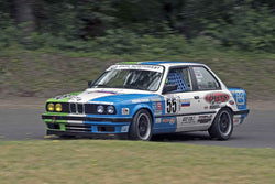 Kyle Byers - 1989 BMW E-30 in Group 8 at the 2017 SOVREN Pacific Northwest Historicsrun at Pacific Raceways