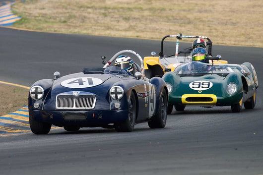 Michael Silverman - 1957 MGA in Group 1 -  at the 2016 Charity Challenge - Sonoma Raceway