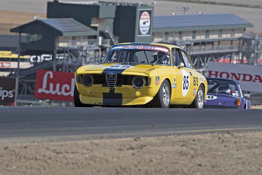 Bob Wass - 1967 Alfa Romeo GTV in Group 8 -  at the 2016 Charity Challenge - Sonoma Raceway