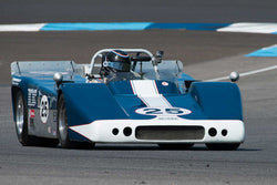 Norm Cowdrey - 1967 McKee Mk 10 - Group 11 at the 2017 Brickyard Vintage Racing Invitational run at Indianapolis Motor Speedway