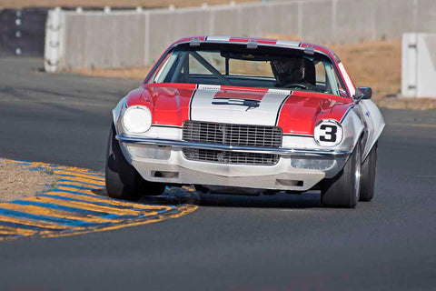 Chevrolet Camaro in Group 8 - Trans-AM, SCCA Sedan &NIMSA GTU/GTO at the 2017 CSRG Charity Challenge run at Sonoma Raceway