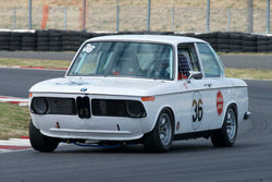 Robert Russell with 1971 BMW 2002 in Group 8 -  at the 2016 Portland Vintage Racing Festival - Portland International Raceway