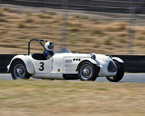 Terry Buffum with 1949 Jaguar with Parkinson Special in Group 2 - 1946-1955 Sports Racing and Production Cars at the 2015 Sonoma Historic Motorsports Festival at Sonoma Raceway