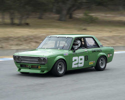 Bill Ockerlund driving his 1970 Datsun 510 in Group 2 at the 2015 HMSA LSR Inventional I at Mazda Raceway Laguna Seca