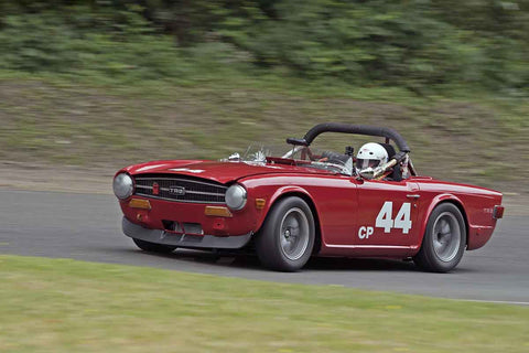 Charly Mitchel - 1969 Triumph TR6 in Group 2B at the 2017 SOVREN Pacific Northwest Historicsrun at Pacific Raceways