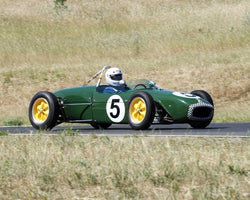 Vern Neff driving his 1960 Lotus 18FJ in Group 4 at the 2015 CSRG Thunderhill Rolling Thunder at Thunderhill Raceway