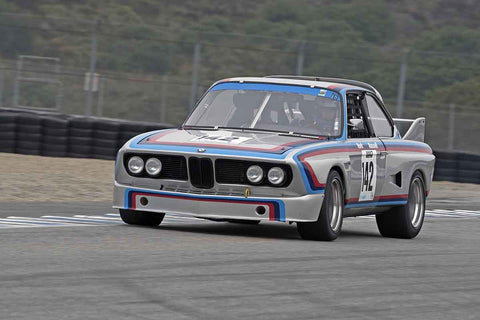 Dick York - 1973 BMW CSL in Group 4A  at the 2016 Rolex Monterey Motorsport Reunion - Mazda Raceway Laguna Seca